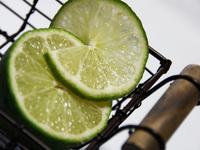Pair of limes in Basket