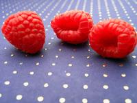 Raspberry in Blue