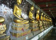 Golden Buddas