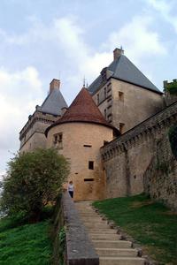 Chateau de Biron, Southwest Fr