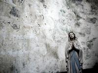 Sculpture of Holy Virgin