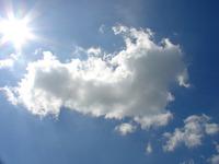 clouds bright