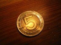 5 zlotych