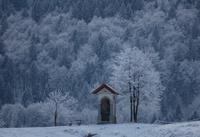 Shrine in winter