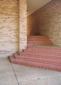 Auditorium stairwell