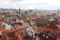 Prague old town's roofs