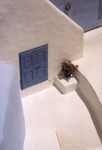 Santorini window