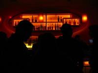 upscale Bar Silouette