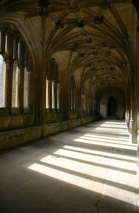 church sunlight