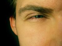 Squinting Eye