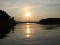 Bull Shoals Lake Sunset 1