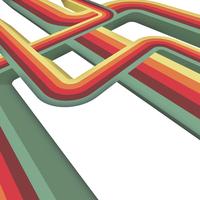Retro Vector Stripes Design 1
