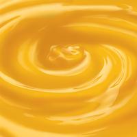 Orange juice swirl