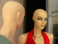 Two Bald Dolls