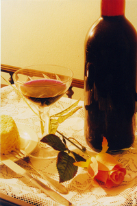 Rosa, vinho e glamour 1