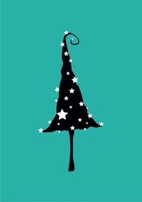 Whimsical christmastree