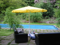 livingroom at pool