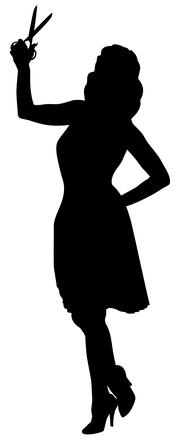 Seamstress Silhouette