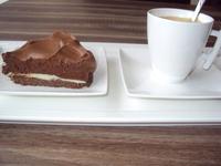 Coffee and chocolate pie