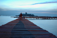 Sunrise at Pulau Tidung