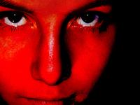 red face closeup