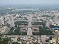 Massive Shiva temple in India
