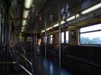 Nearly empty F train