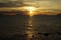 Rocky Orange at Sunset