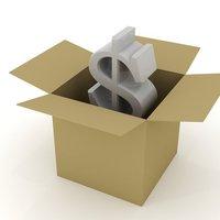 dollar in a box 1