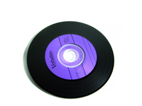 Vinyl looking like cd's