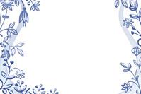 Blue Floral Design 2