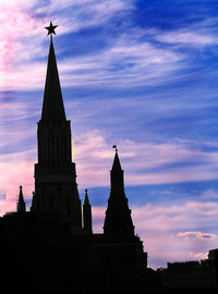 Kremlin sunset