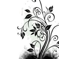 Grunge floral 3