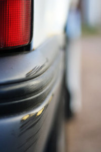 Car parking dent