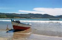 Garopaba beach