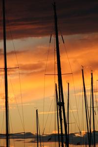 masts on sunset 1