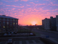 Sunrise over Zoetermeer