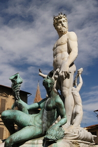 "Italy - Florence - Neptune, il ""Biancone"