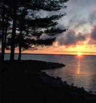 Michigan Lake Sunrise