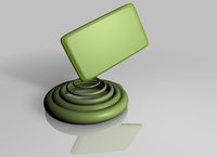 Design element | Spiral with label 2