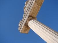 Old Greek columns