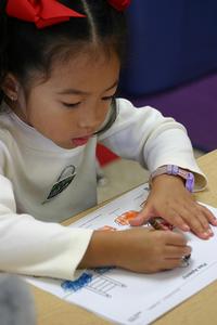 preschool girl learning 4
