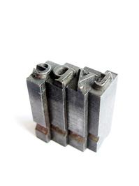 metal type from letterpress 3