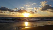 Beach Sunset, Wales