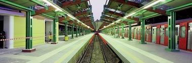 Metro Station in Athens