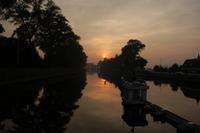 Sunset at an old bridge 2