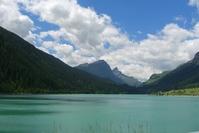 Watter,Lake,Blue,Mountains,Sky,Holidays