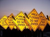 Yellow Street Signs