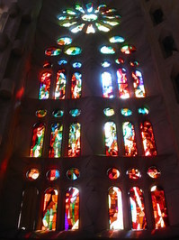 Sagrada Familia, stained glass