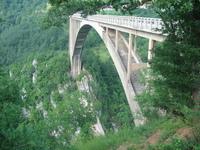 Bridge over river Tara, Serbia